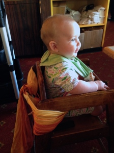 Seatbelt for a highchair? WHy not?
